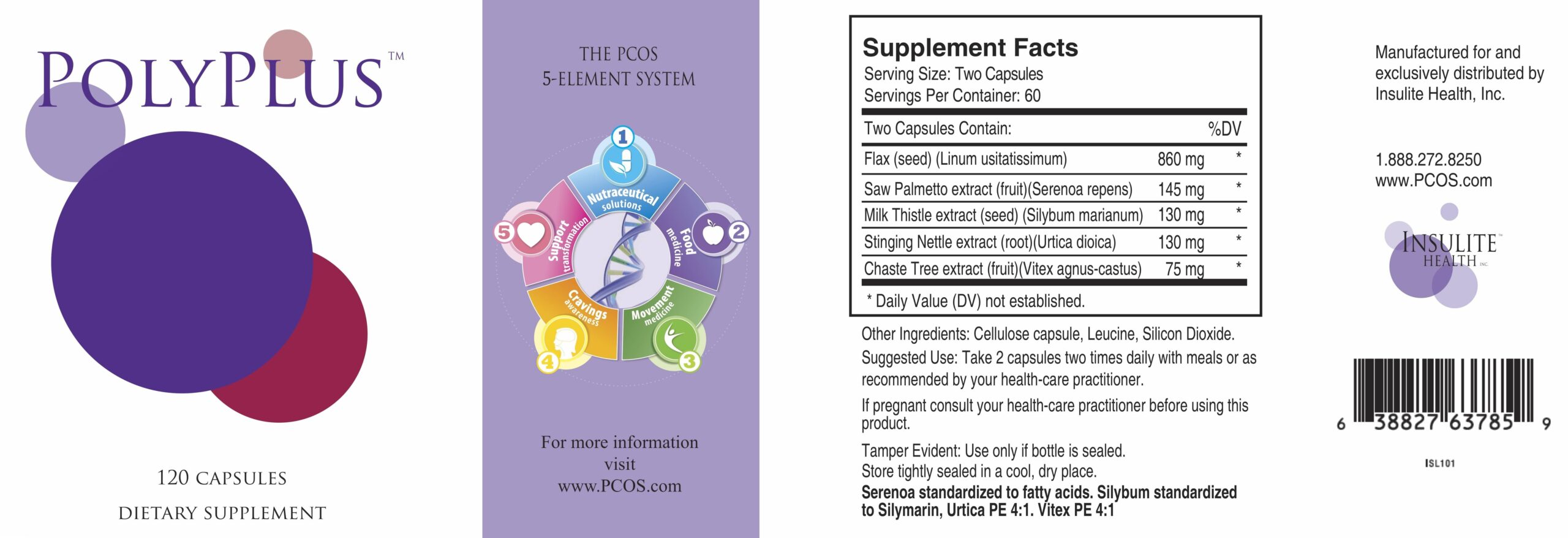 Natural Hormone Solution For PCOS Poly Plus