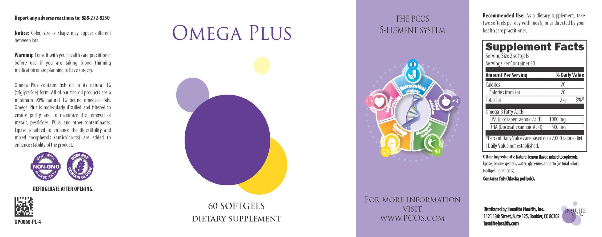 Natural Hormone Solution For PCOS - Omega PLUS